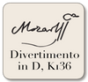 BREVE Mozart Divertimento for String Quartet in D, K136