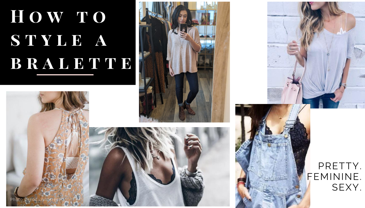 How to Style A Bralette