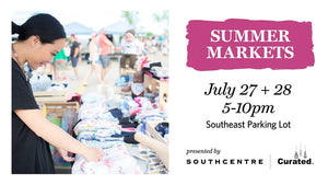 Southcentre Curated Summer Markets Calgary 2018