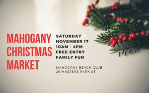 Our Next Pop-Up: Mahogany Christmas Market
