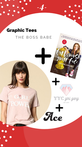 Pink Liberty Holiday Gift Guide - Girl Power Graphic T-shirt