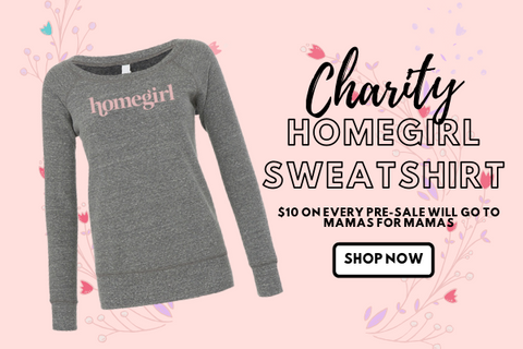 Pink Liberty Charity Homegirl Sweatshirt
