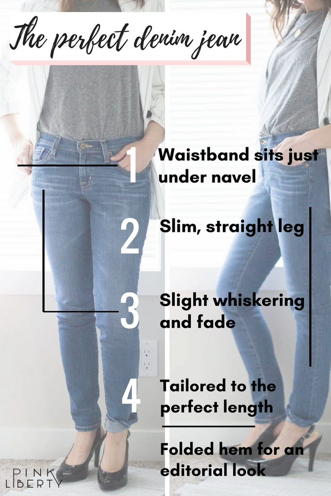Pink Liberty The Perfect Denim Jean Blog Infographic