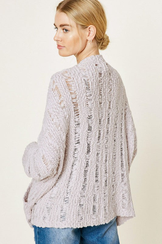 Be Right There Chunky Bolero Knit Cardigan