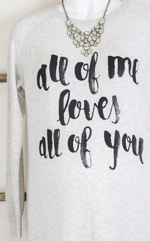 All of Me Tunic Dress