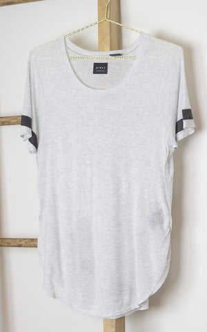 Take Me to the West Coast LA Graphic Pebble Grey T-Shirt