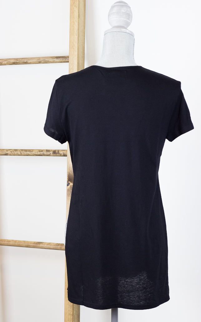Take Two Side Split Jersey Tunic Tee