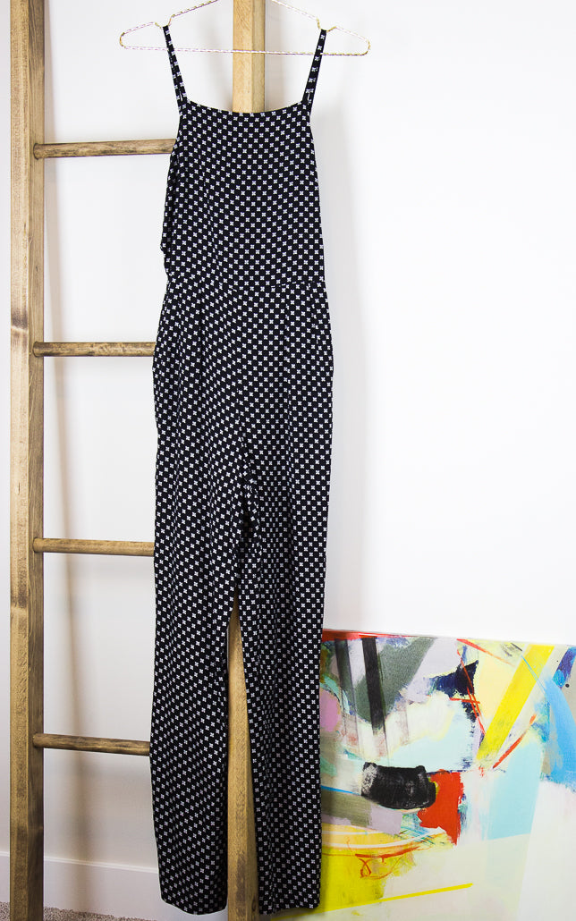 Flores Beautiful Mess Patterned Jumpsuit