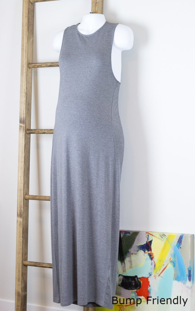 Riza Crossover Back Maxi Dress