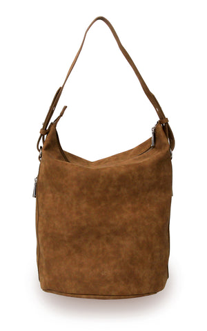 Vegan Leather Boho Bucket Handbag