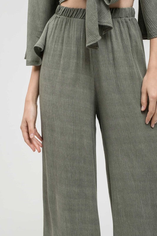 Daydreamer Wide Leg Culotte Pants