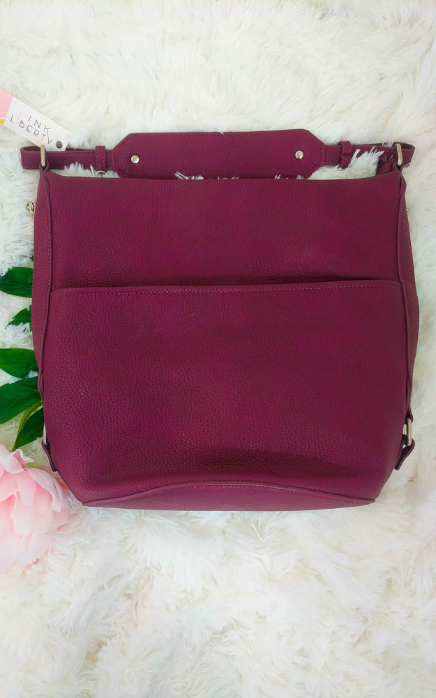 Vegan Leather Hobo Purse