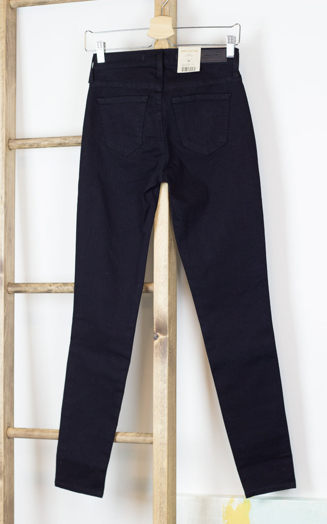 High-Rise Skinny Slimming Jeans Black
