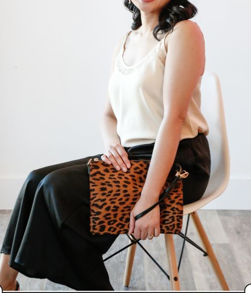 Lawless Leopard Clutch