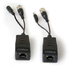 Surveillance Passive Video & Power Balun with RJ45 - Pair