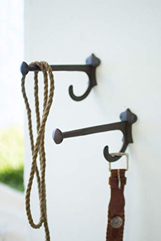 Cast Iron Hook - Rustic - Les Spectacles French Industrial