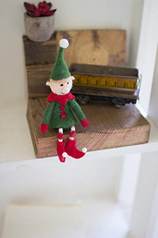 Felt Elf On A Shelf - Small - Les Spectacles French Industrial