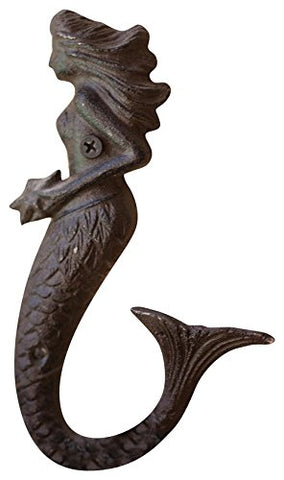 Cast Iron Mermaid Hook - Les Spectacles French Industrial