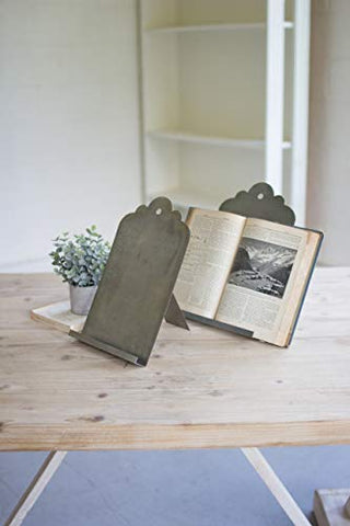 Metal Book Stand - Les Spectacles French Industrial