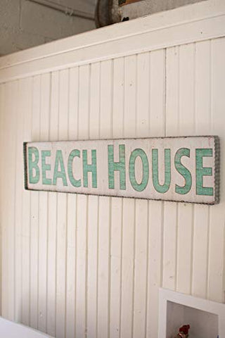 Beach House Sign - Les Spectacles French Industrial