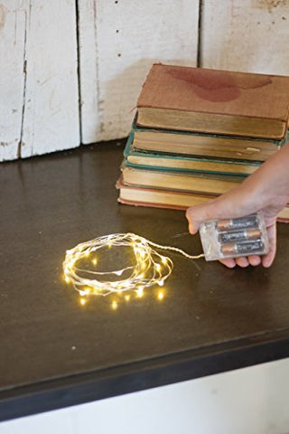 Set Of Six Battery String Lights