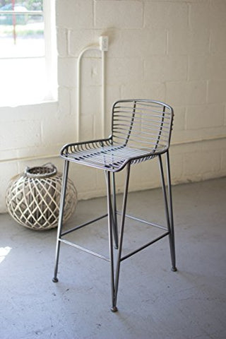 Metal Bar Stool - Les Spectacles French Industrial