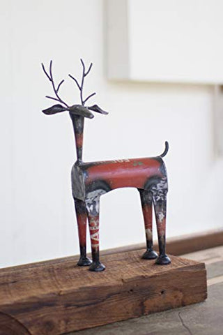 Recycled Metal Red Deer - Les Spectacles French Industrial