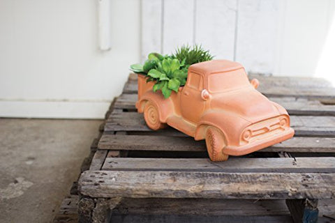 Terracotta Truck pot - Les Spectacles French Industrial