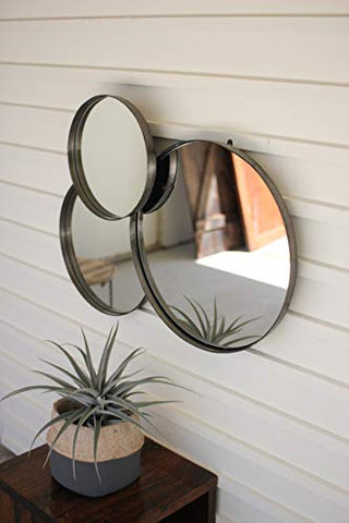 Three Circles Wall Mirror