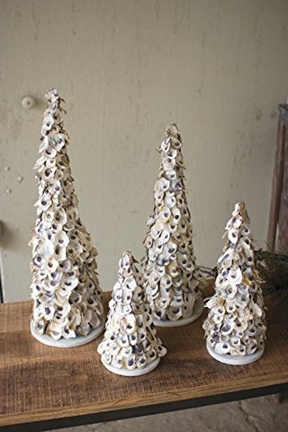 Oyster Shell Topiary-Medium - Les Spectacles French Industrial