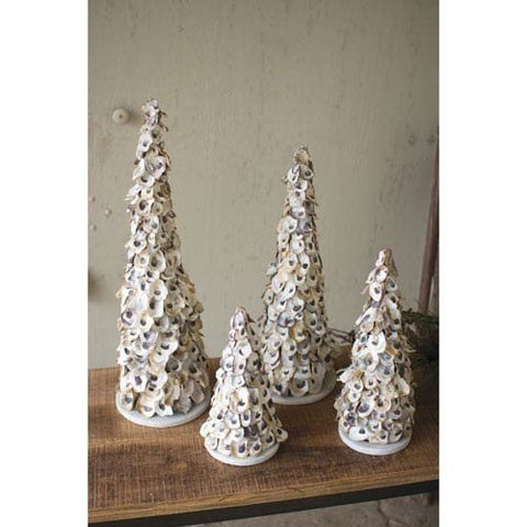 Oyster Shell Topiary-X Large - Les Spectacles French Industrial