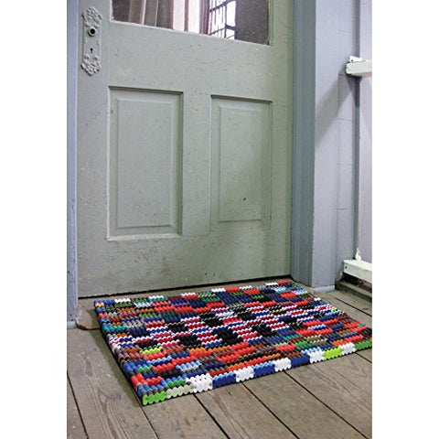 Recycled Flipflop Doormat 30 X 20 - Les Spectacles French Industrial