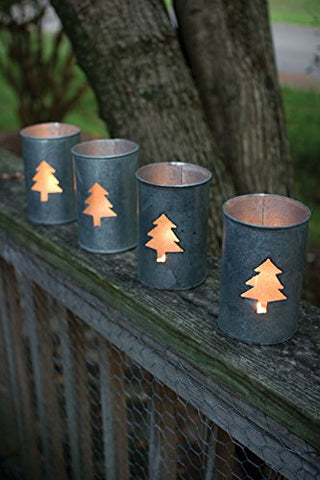 Tin Tree Luminary - Les Spectacles French Industrial
