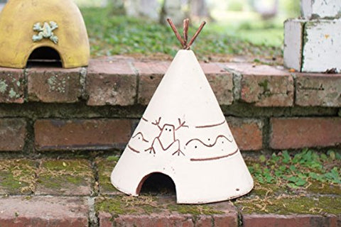Clay Tee Pee Toad House - Les Spectacles French Industrial