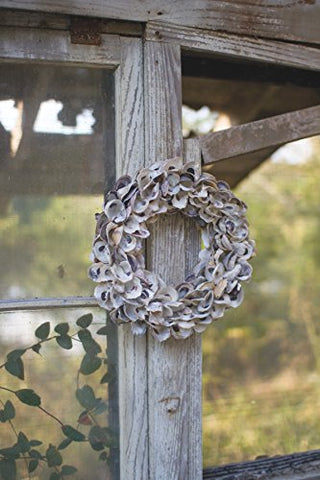 Oyster Shell Wreath - Les Spectacles French Industrial