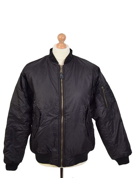 Relco Black MA1 Jacket