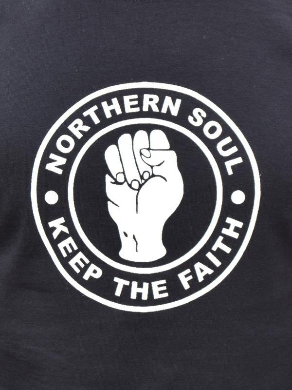 Keep The Faith Black T Shirt