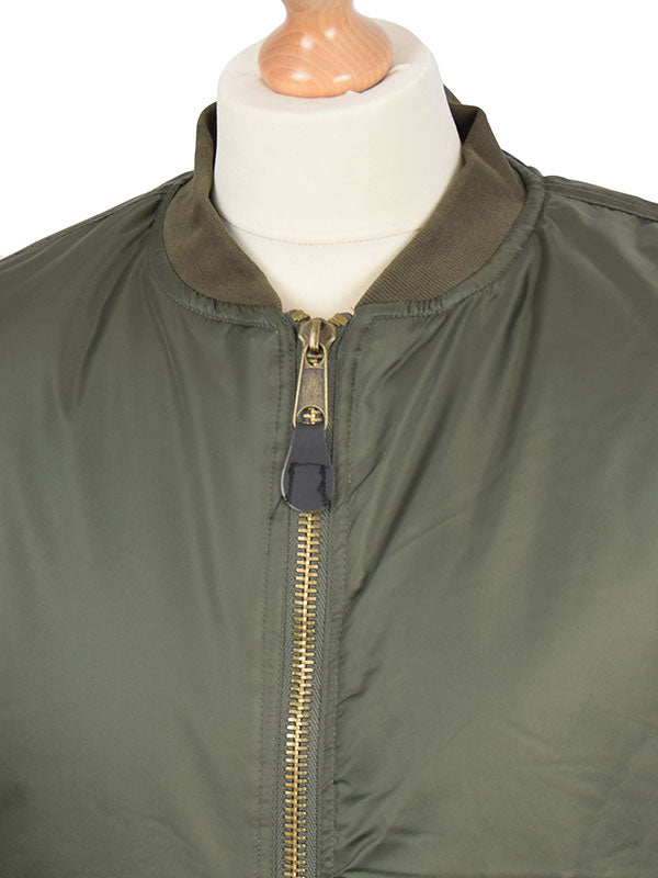 Relco Olive MA1 Jacket