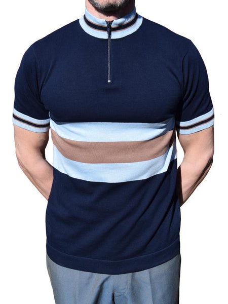 Art Gallery Navy Blue Cycle Top