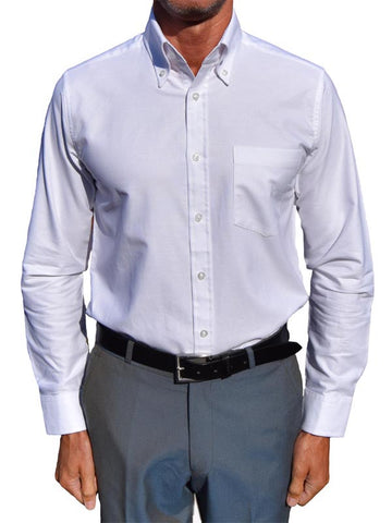 Art Gallery White Oxford Shirt
