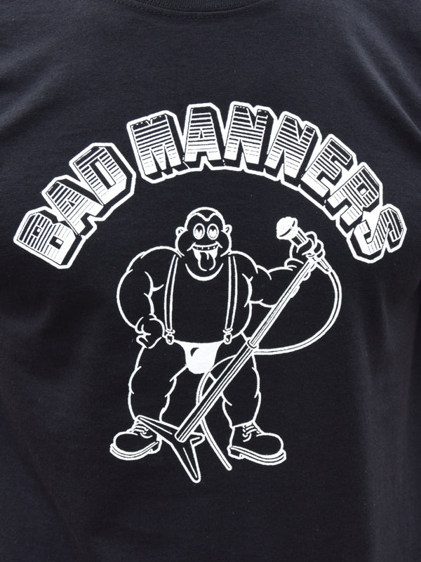 Bad Manners Black T Shirt