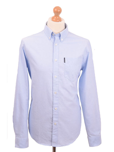 Ben Sherman Sky Blue Oxford Shirt
