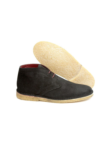 Delicious Junction Black Suede Desert Boots