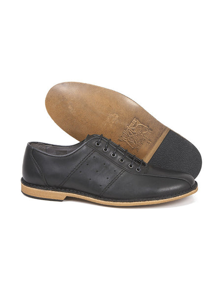 Delicious Junction Black Bowling Shoes
