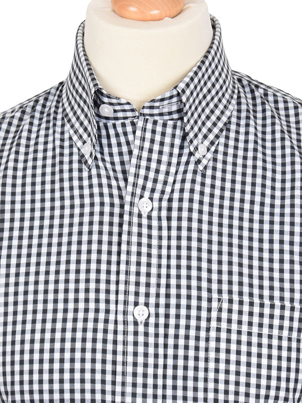 Relco Black Gingham Shirt