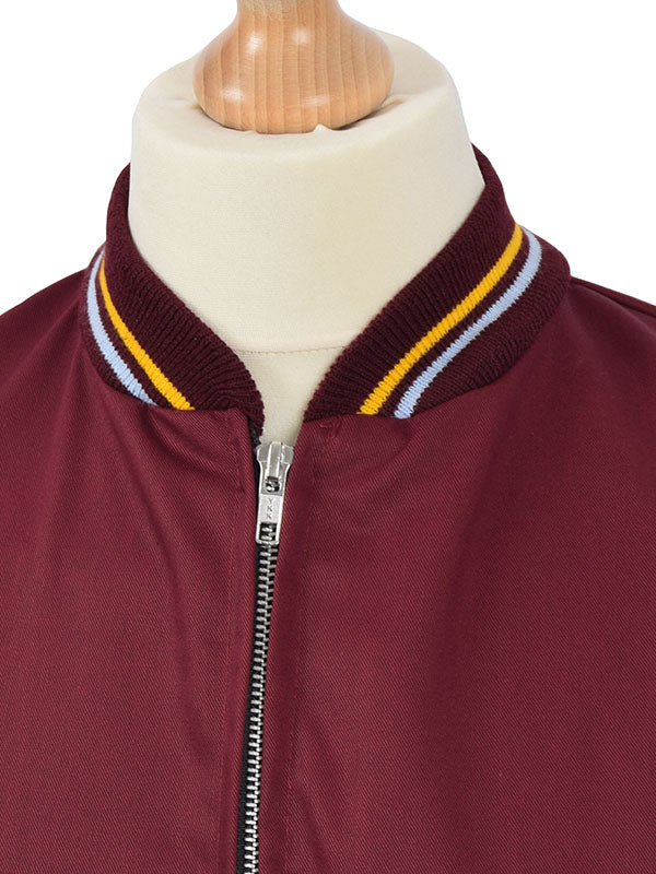 Relco Burgundy Monkey Jacket