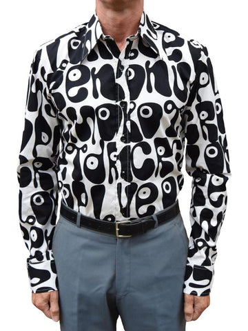 Chenaski Black & White Moloko Shirt