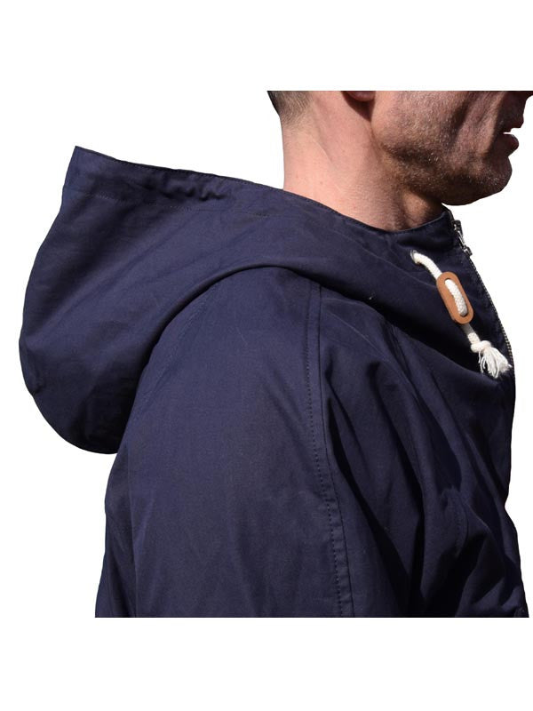 Connection Knitwear Navy Mick GT Scooter Smock