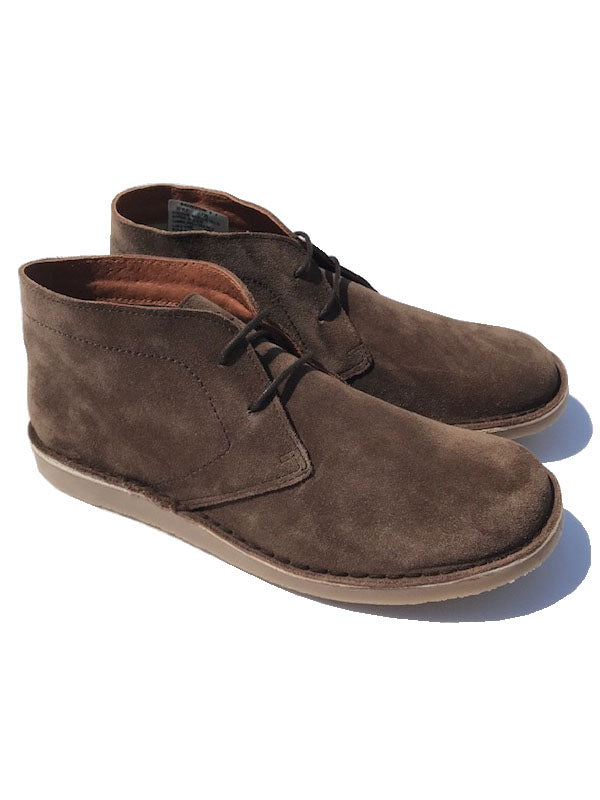 Delicious Junction Crowley Chocolate Suede Desert Boots