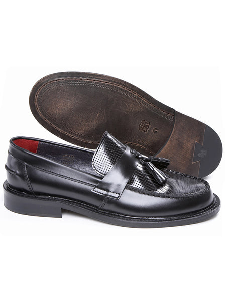 Delicious Junction Black Ace Punch Loafers